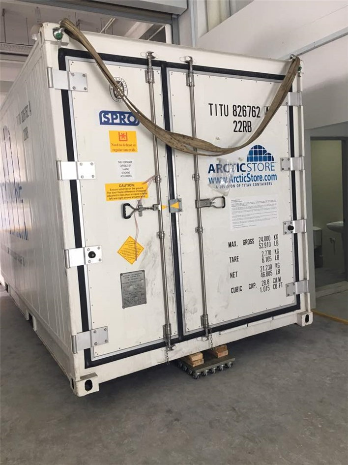 DNV 271 OFFSHORE CONTAINERS CCU CARGO CARRYING UNITS Sale