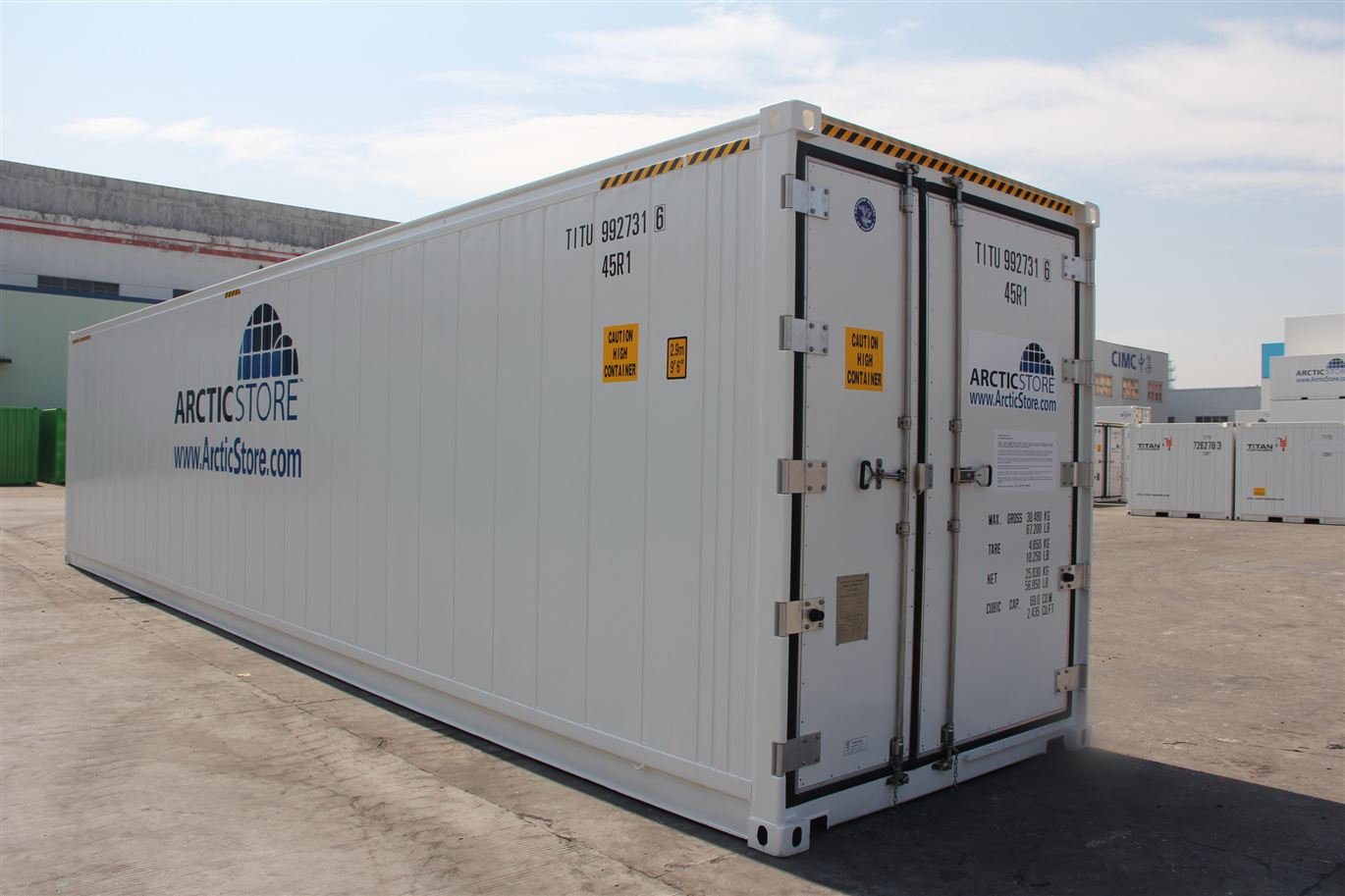 Cratex Container has one of the largest selection of Sea Can containers in North America.