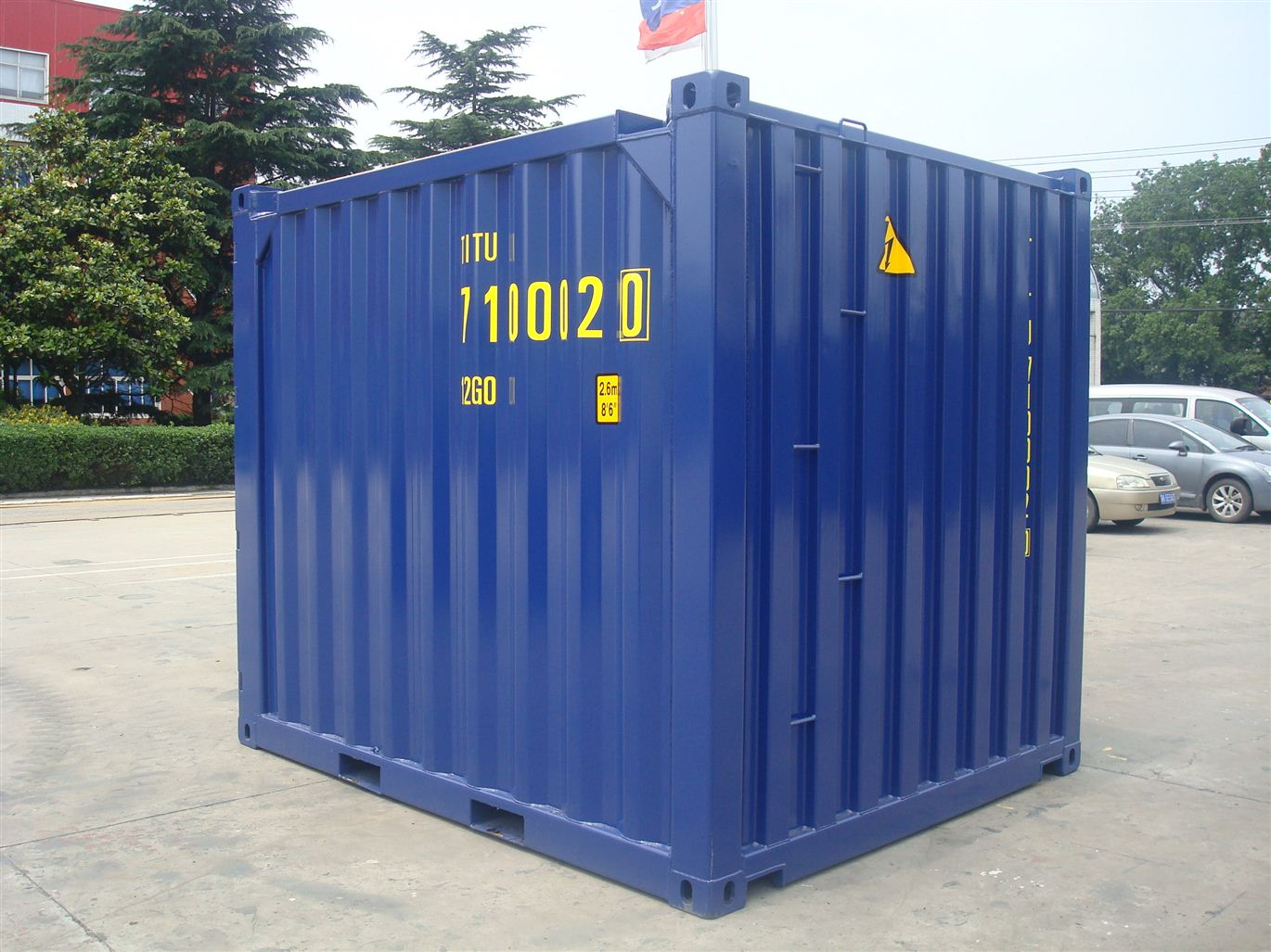 New 10ft DNV dry van containers build to DNV2.7-1 u0026 EN12079 standards u0026 ISO certified under container safety certificate for easy shipping trucking u0026 rail ... : iso storage containers  - Aquiesqueretaro.Com