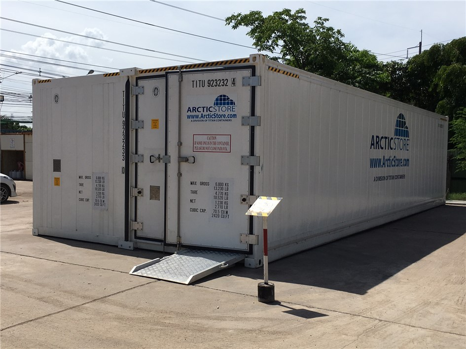 Vietserve introduces the revolutionary TITAN Arctic SuperStore  Super 2  model portable modular expandable cold storage room to Vietnam. & Portable Cold Stores | Refrigerated containers | hire | sale ...