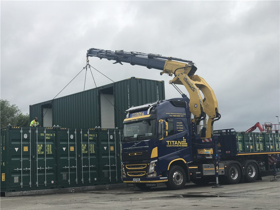 TITANu0027S Limerick depot is the first Selfstorage site in Ireland to receive this latest innovative Selfstorage concept. For more information please contact ... & Containers hire sale cold stores refrigerated self storage Ireland