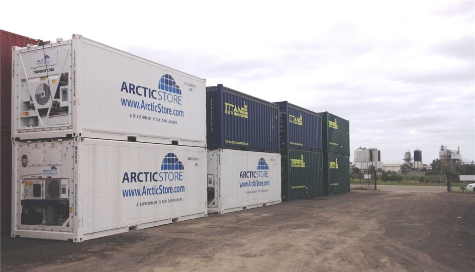 TITAN Containers go local in Melbourne & Storage and shipping container  reefer cold storage hot and cold ...