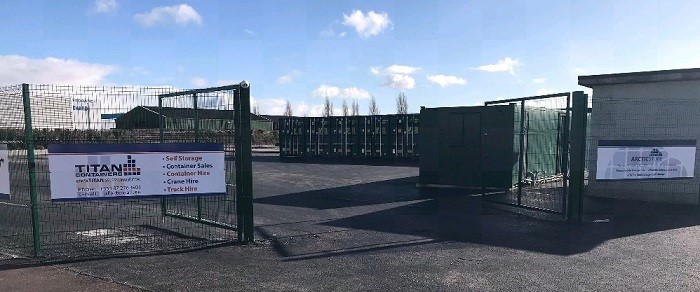 TITAN recently opened the 4th self storage site in Ireland. & Storage and shipping container  reefer cold storage hot and cold ...