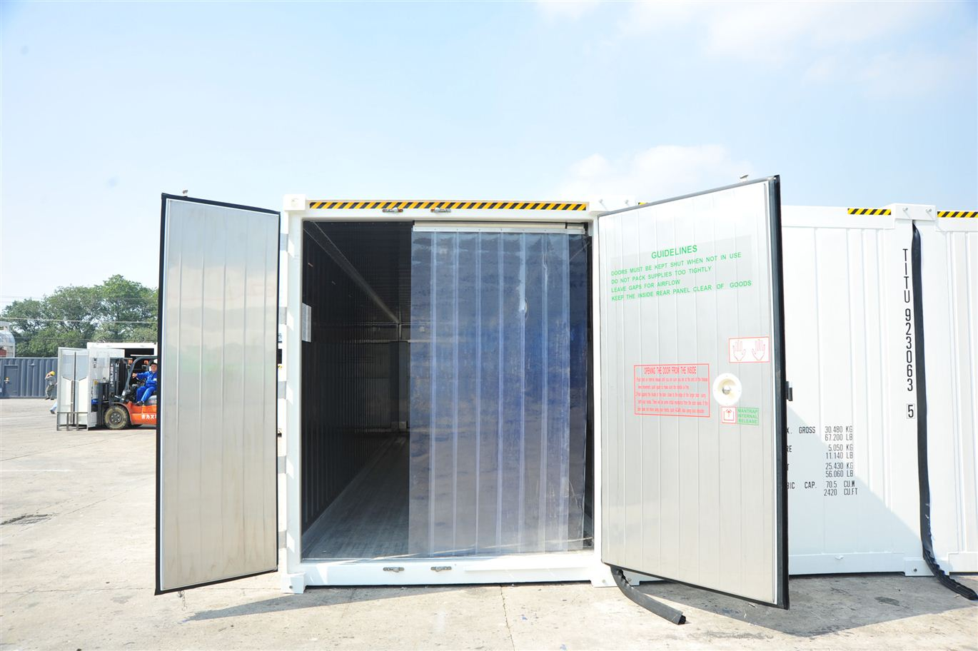 Location containers frigorifiques | Chambres froides mobiles ...
