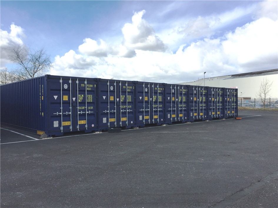 TITAN Containers M62 Self Store Expansion & Containers hire sale cold stores refrigerated self storage Ireland
