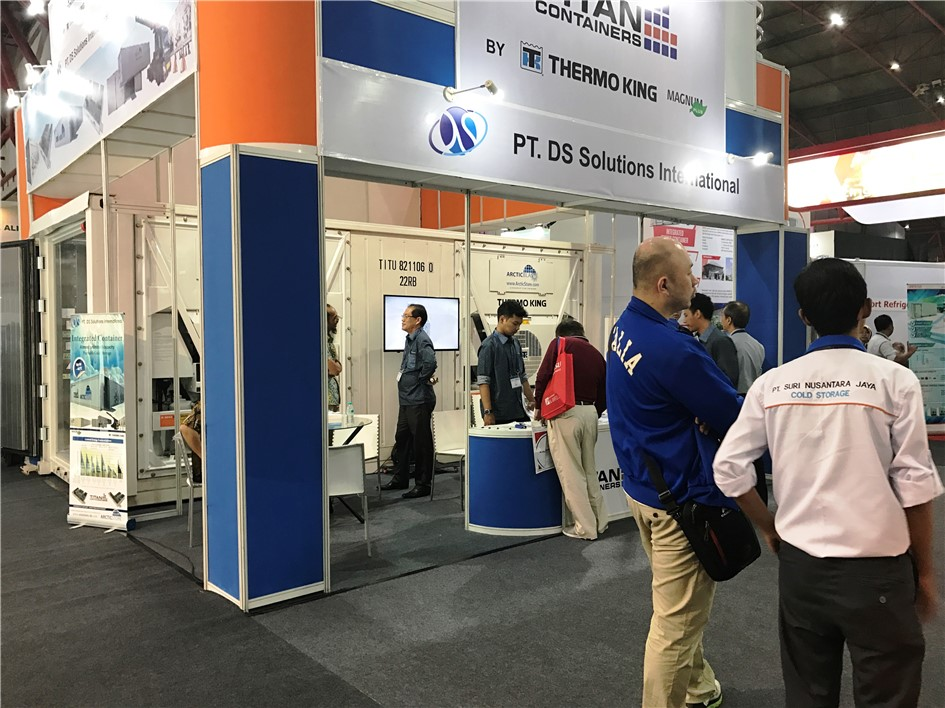 DS Solutions International at the recent cold chain exhibition in Jakarta. With a 20u0027 ArcticBlast rapid chiller/freezer on the stand ArcticStore oroducts ... & Containers hire sale cold stores refrigerated self storage Ireland