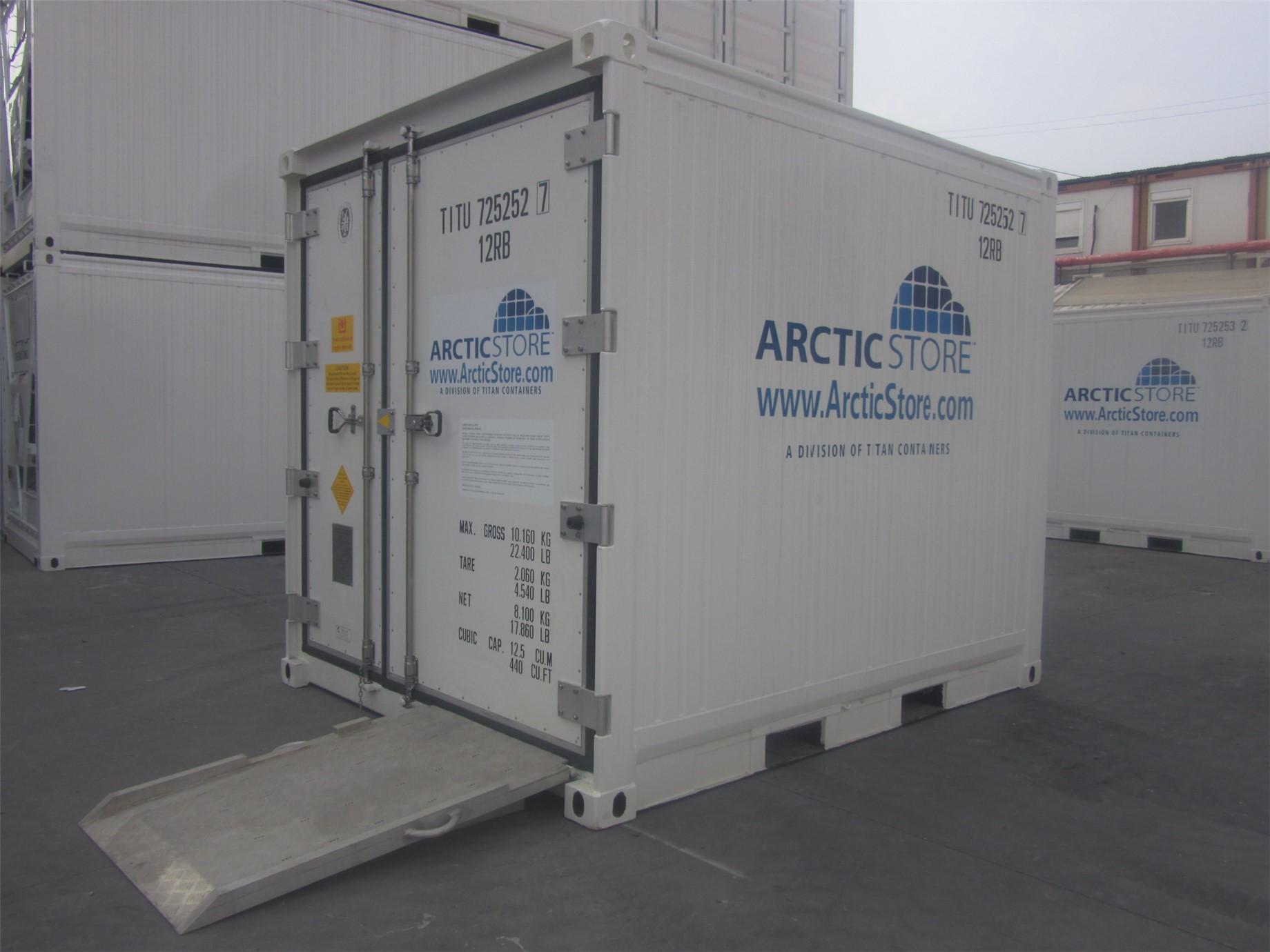 10' (3 m) ArcticStore modelimiz. Depolama ve hızlı soğutma, şoklama için kullanılabilir.