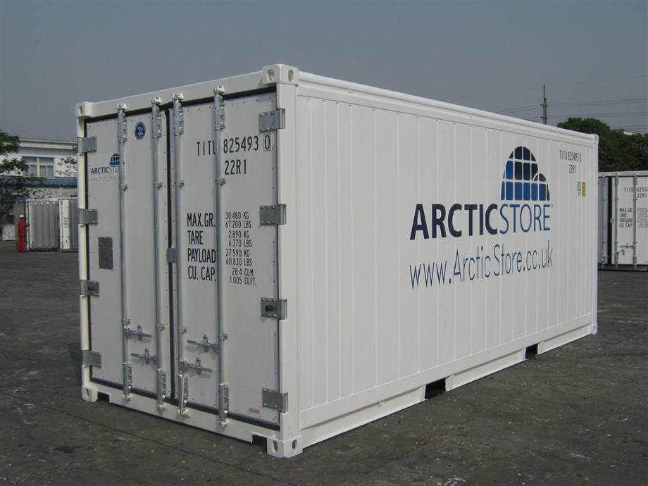 Kiralanan 20' (6 m) Marine Reefer konteyner modelimiz