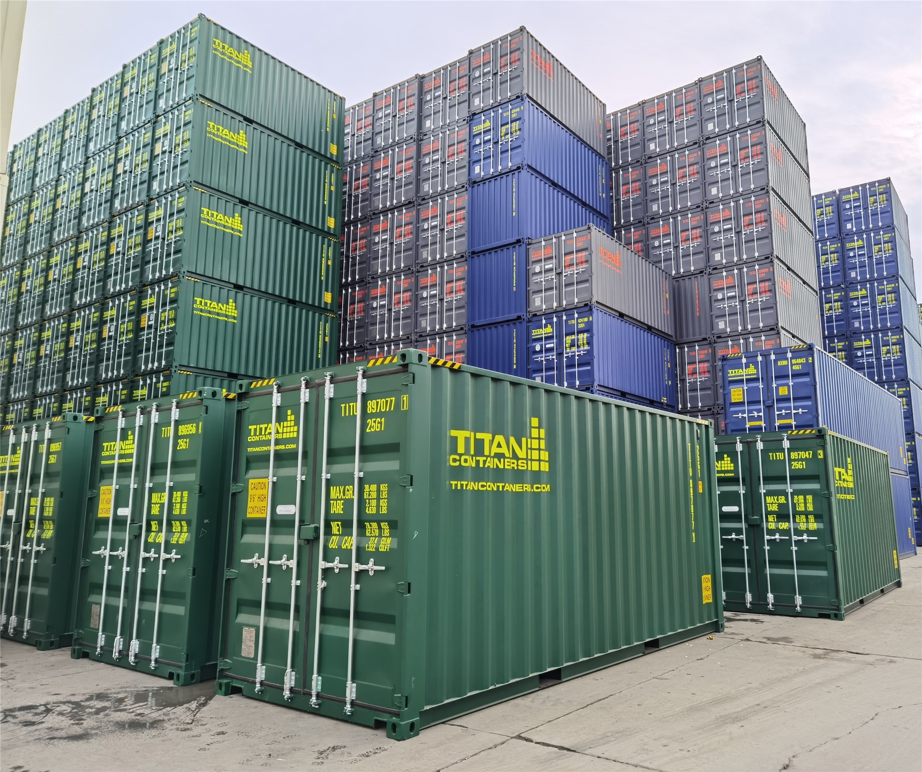 TITAN Containers No shortage of Shipping containers
