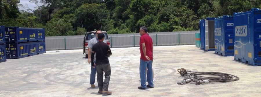 SPRO depot in Labuan