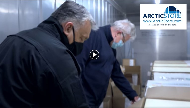 Arctic Store TITAN Containers Cold Vaccine Storage room
