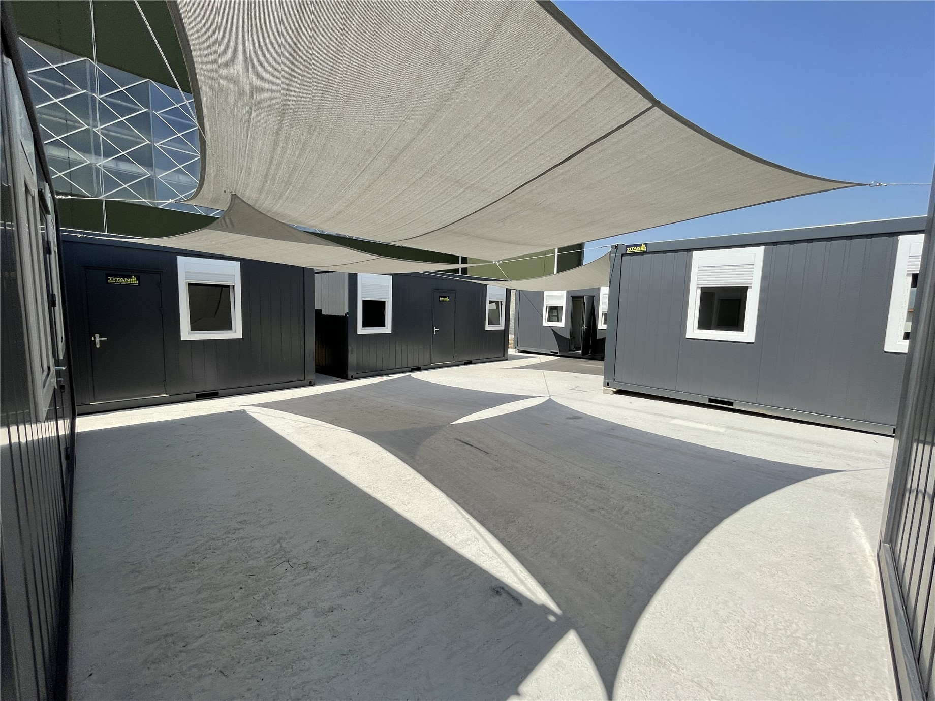 site office TITAN Hellas
