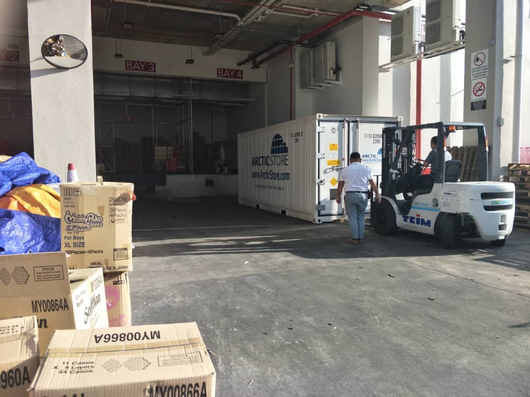 Portable cold stores and containers hire sale Vietnam