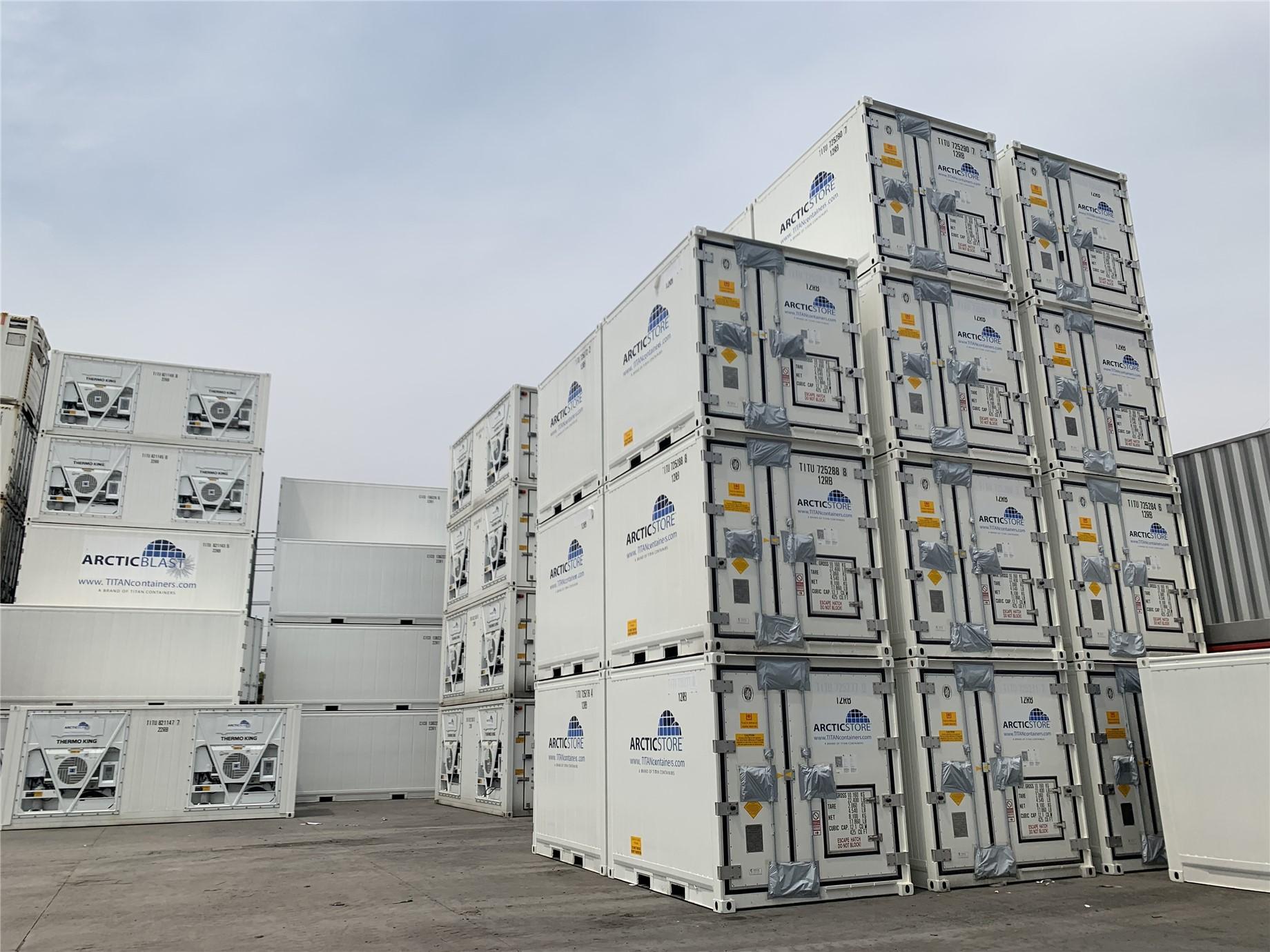 Door gear is protected for shipment