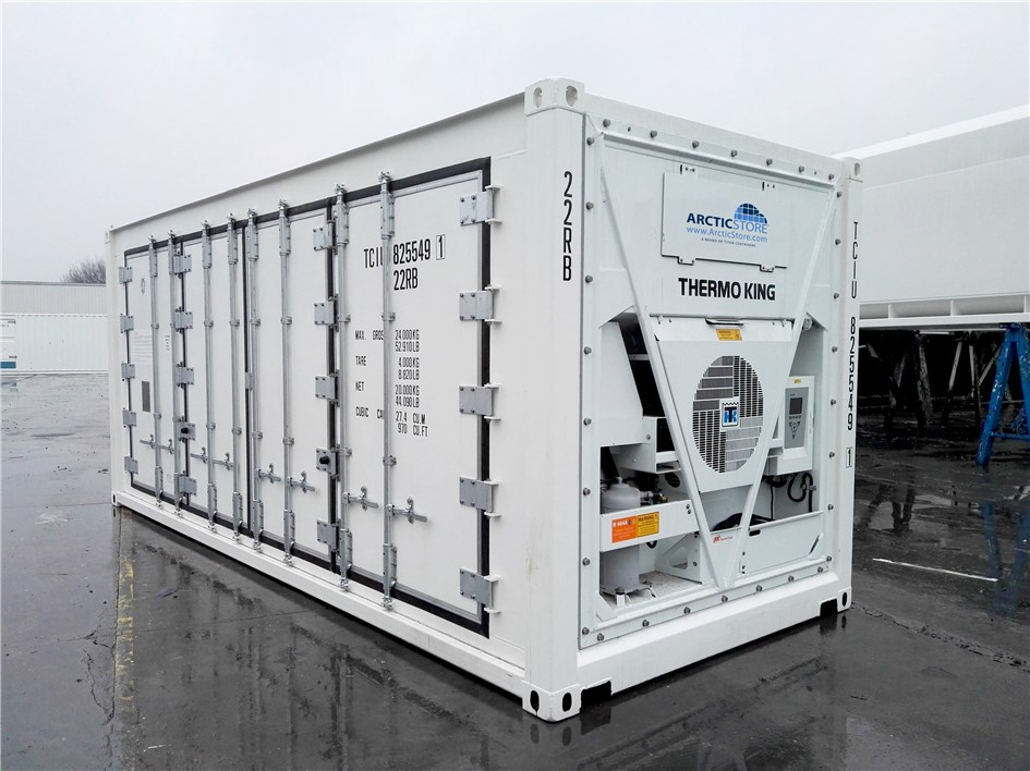Storage and shipping container , reefer cold storage, hot and cold