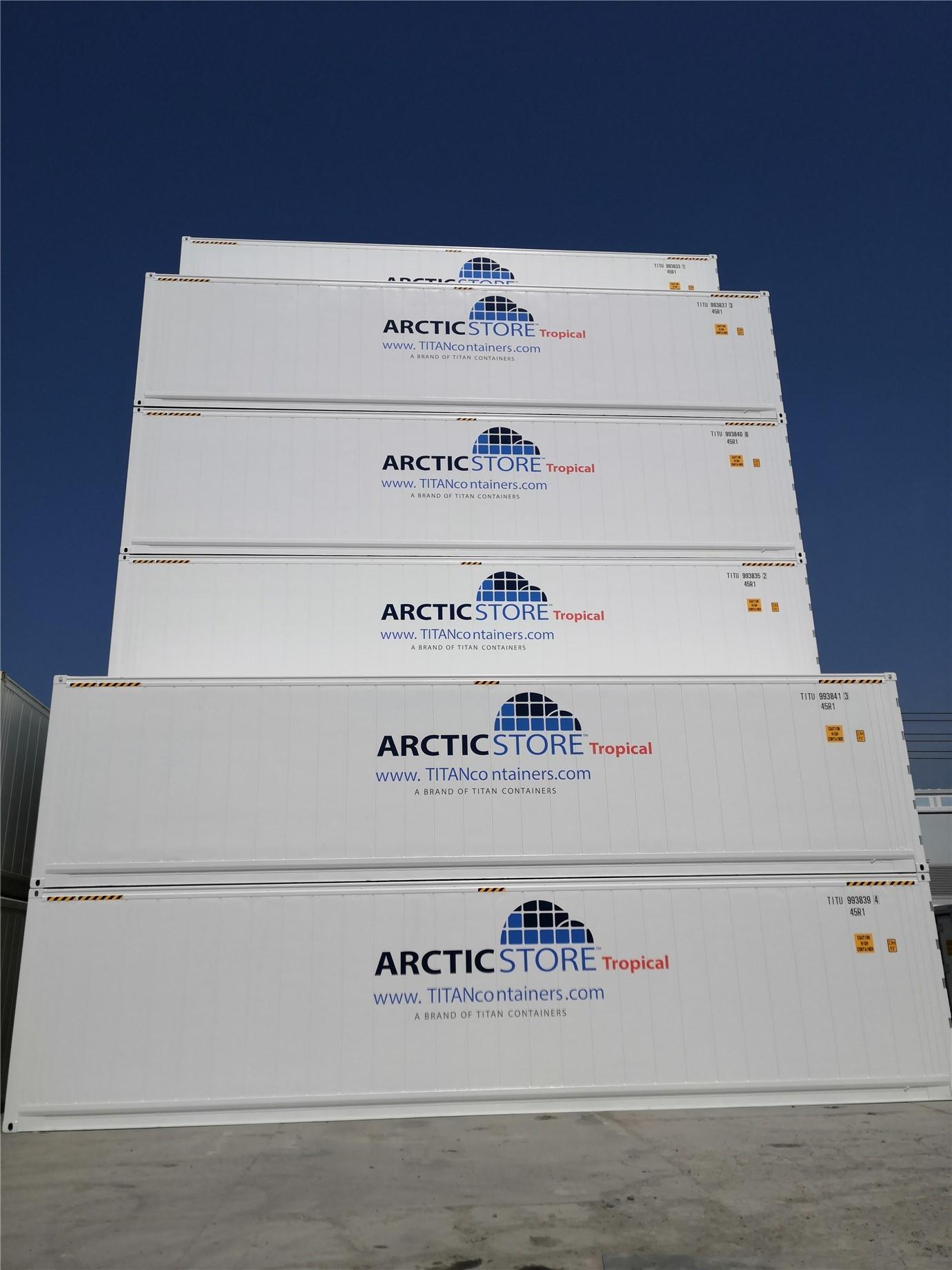 Arcticstore Tropical 40' (12 m) soğutmalı konteyner modelimiz