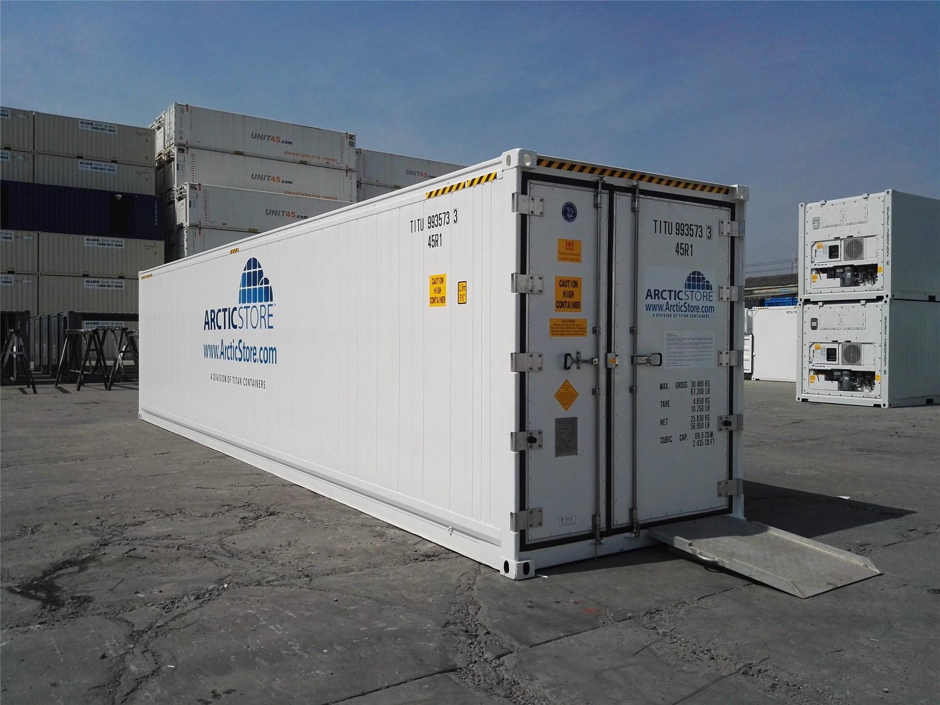 40' (12 m) standart ArcticStore modelimiz