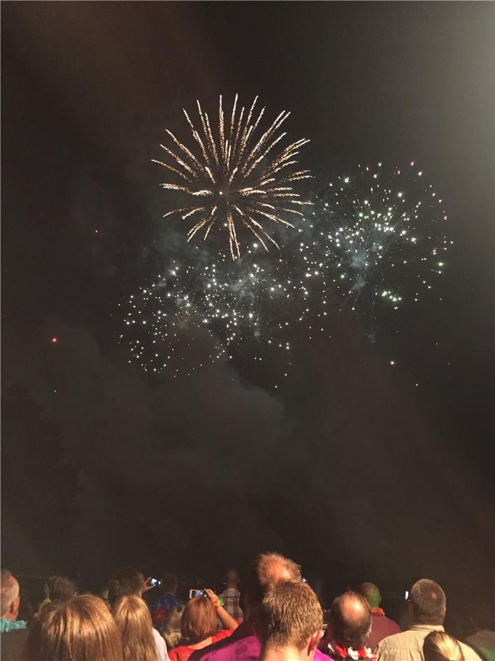 Super fireworks dispaly